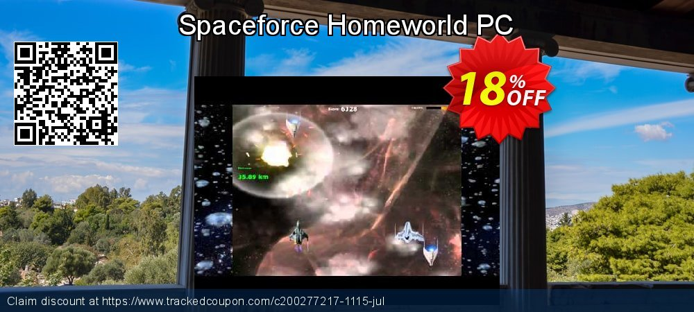 Spaceforce Homeworld PC coupon on American Chess Day discounts