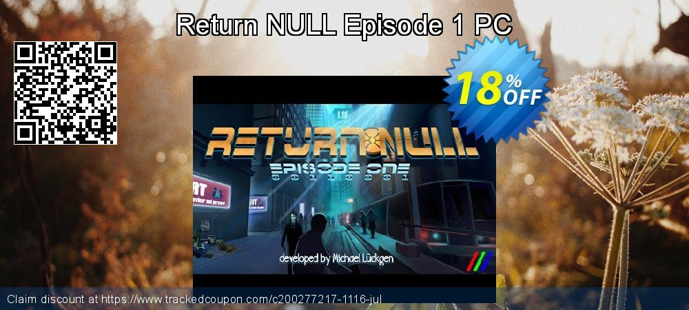 Get 10% OFF Return NULL Episode 1 PC offering sales