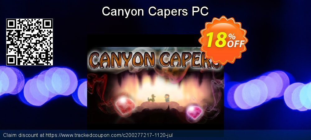 Canyon Capers PC coupon on Grandparents Day discount