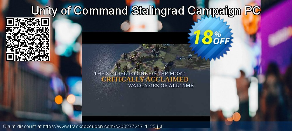 Unity of Command Stalingrad Campaign PC coupon on National Family Day promotions