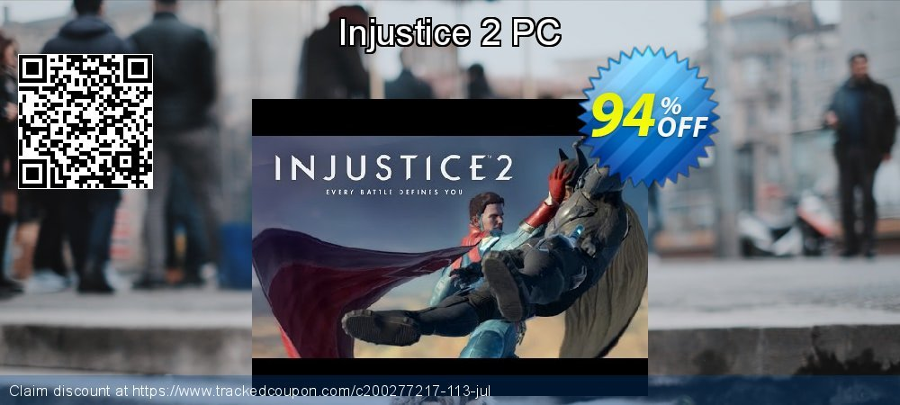 Injustice 2 PC coupon on Mothers Day sales