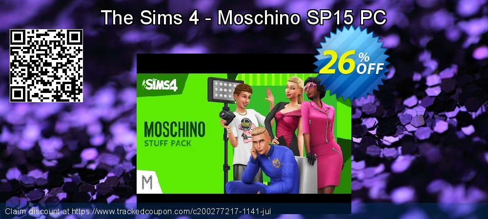The Sims 4 - Moschino SP15 PC coupon on National Singles Day super sale