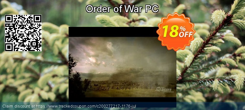 Order of War PC coupon on National Family Day offering sales