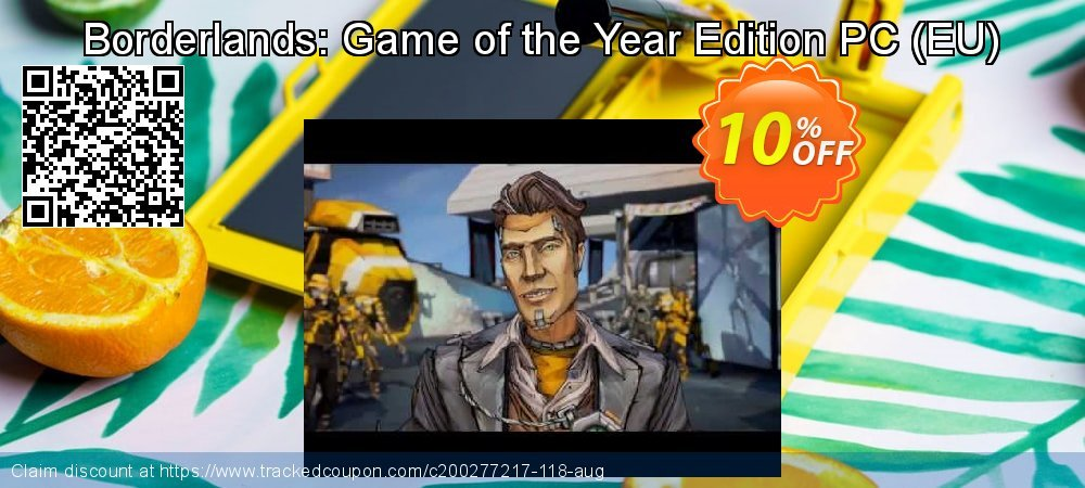 Borderlands: Game of the Year Edition PC - EU  coupon on Mom Day offering sales