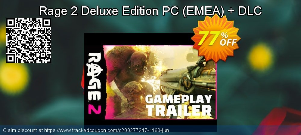 Rage 2 Deluxe Edition PC - EMEA + DLC coupon on Native American Day sales