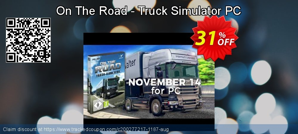 On The Road - Truck Simulator PC coupon on World Bollywood Day discounts