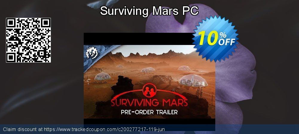 Surviving Mars PC coupon on Mothers Day super sale