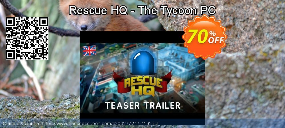 Get 60% OFF Rescue HQ - The Tycoon PC discounts
