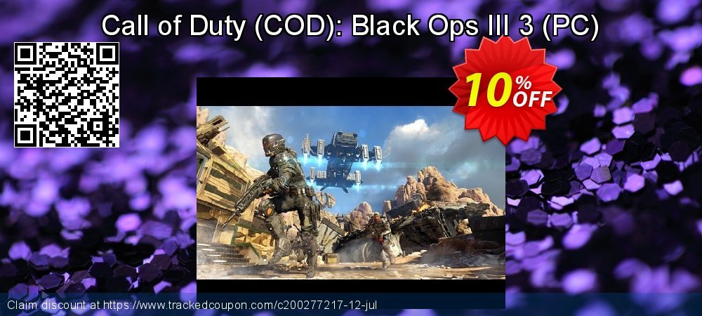 Call of Duty - COD : Black Ops III 3 - PC  coupon on Mom Day discounts