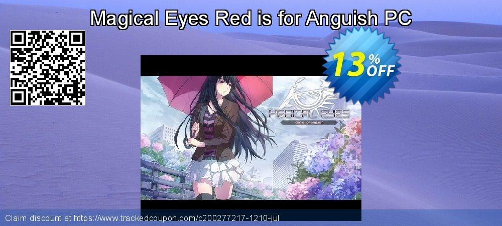 Get 10% OFF Magical Eyes Red is for Anguish PC offering sales