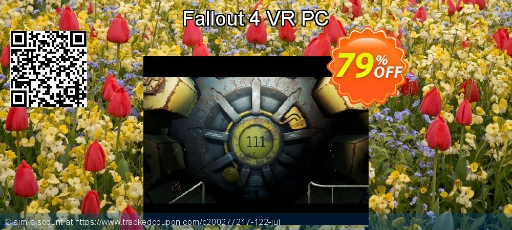Fallout 4 VR PC coupon on Mom Day sales