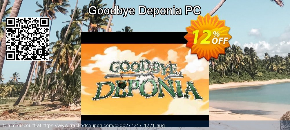 Goodbye Deponia PC coupon on World Bollywood Day offering sales