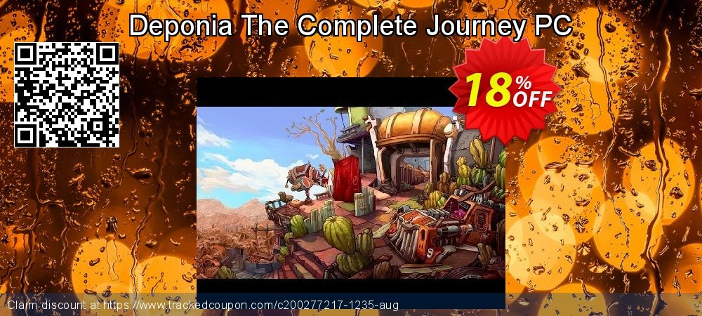 Deponia The Complete Journey PC coupon on American Chess Day deals