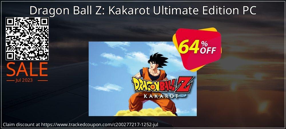 Dragon Ball Z: Kakarot Ultimate Edition PC coupon on American Chess Day sales