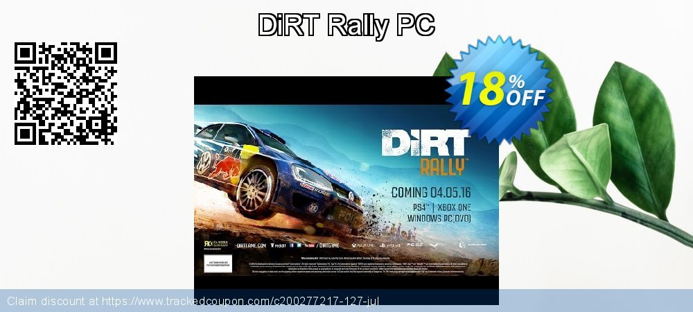 DiRT Rally PC coupon on Mothers Day offering sales
