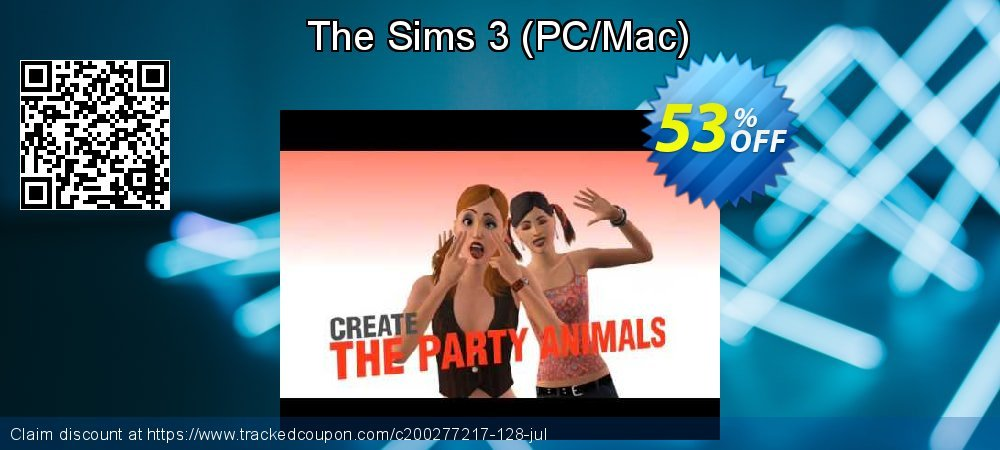 The Sims 3 - PC/Mac  coupon on Mom Day super sale