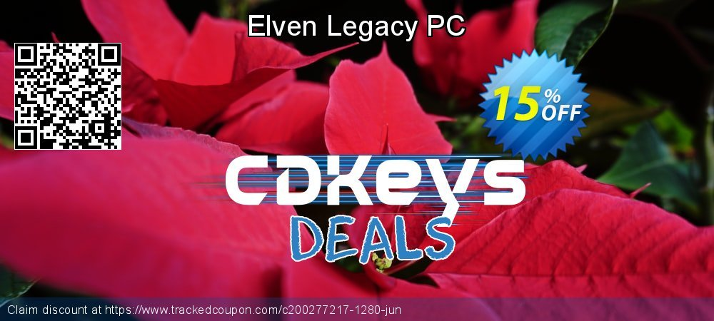 Elven Legacy PC coupon on Lazy Mom's Day deals