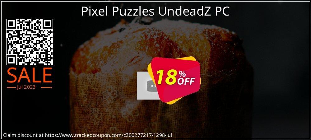 Get 10% OFF Pixel Puzzles UndeadZ PC offering sales