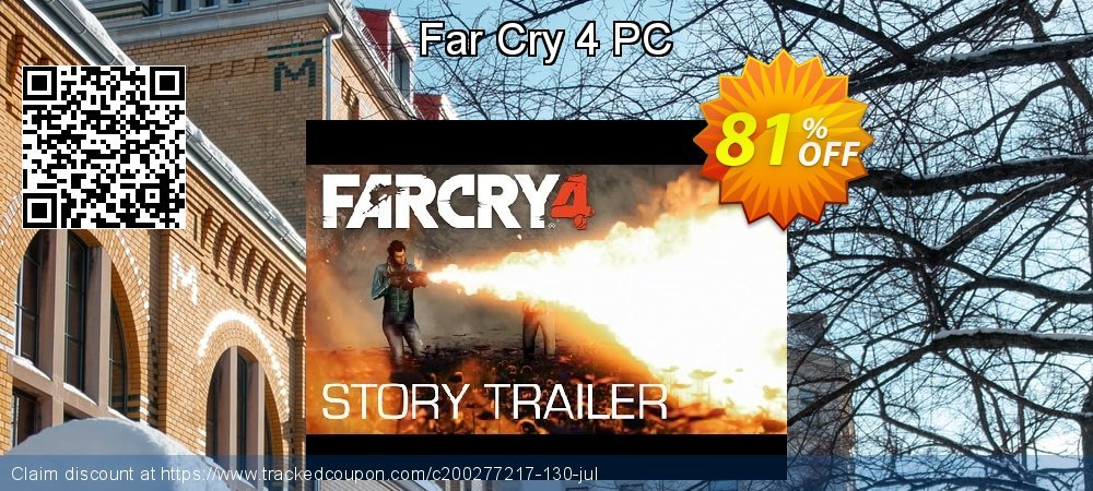 Far Cry 4 PC coupon on Mom Day promotions