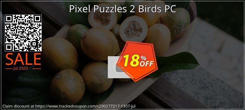 Pixel Puzzles 2 Birds PC coupon on Grandparents Day deals