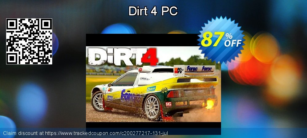Dirt 4 PC coupon on Mothers Day sales