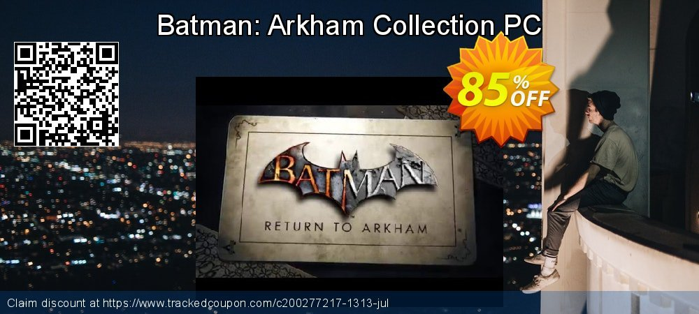 Batman: Arkham Collection PC coupon on National Coffee Day discounts