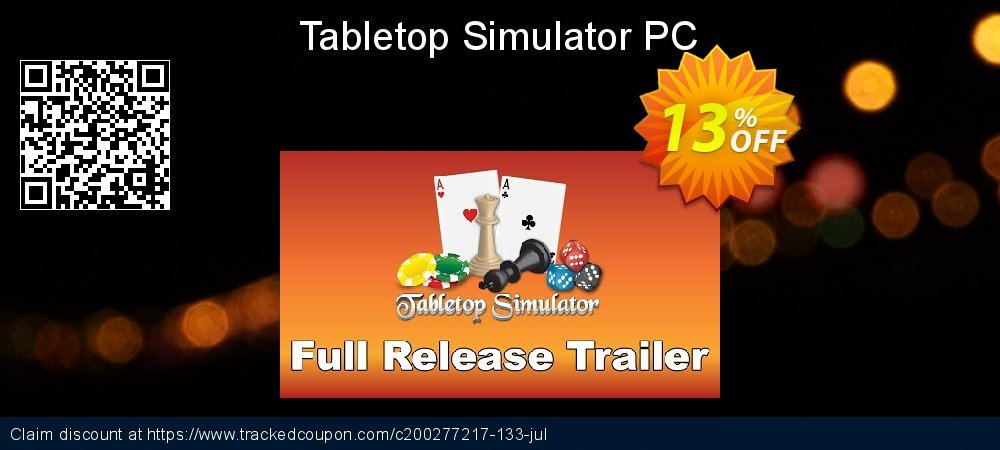 Tabletop Simulator PC coupon on Mothers Day offer