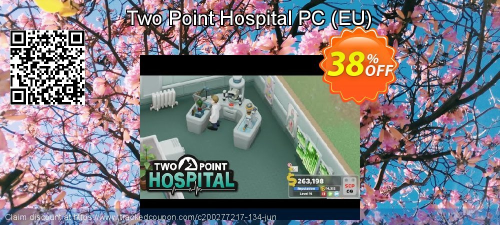 Two Point Hospital PC - EU  coupon on Mom Day discount
