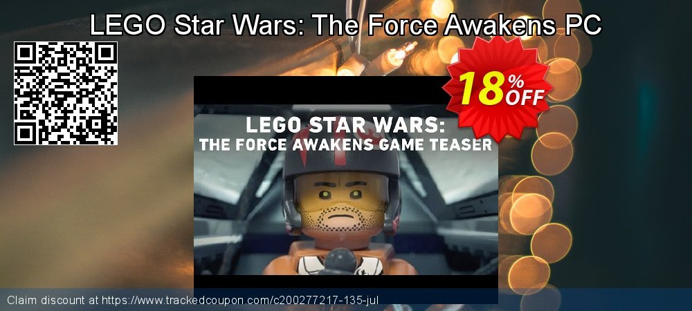 LEGO Star Wars: The Force Awakens PC coupon on Mothers Day offering discount