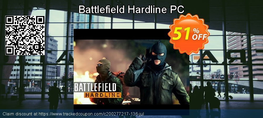 Battlefield Hardline PC coupon on Mom Day offering sales