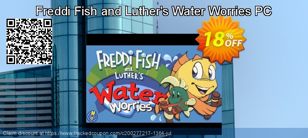 Get 10% OFF Freddi Fish and Luther's Water Worries PC discount