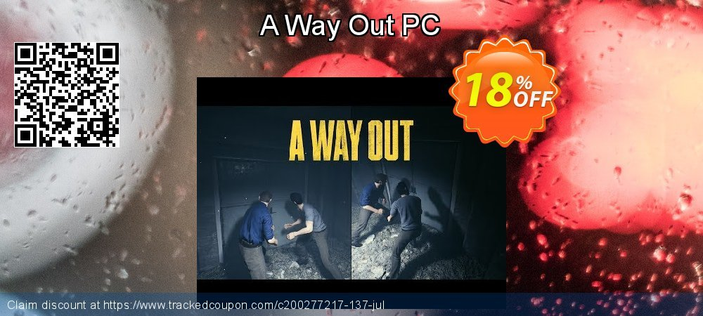 A Way Out PC coupon on Mothers Day super sale
