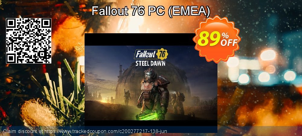 Fallout 76 PC - EMEA  coupon on Mom Day discounts