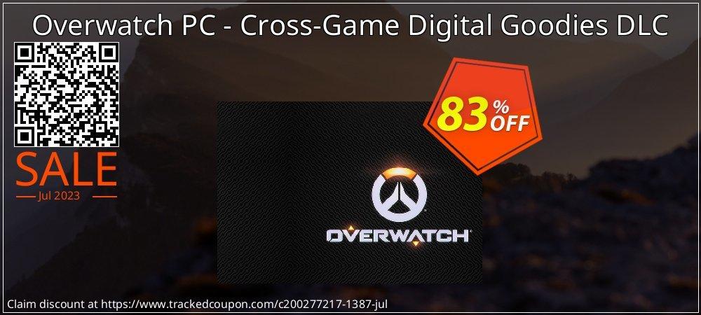 Overwatch PC - Cross-Game Digital Goodies DLC coupon on Halloween deals