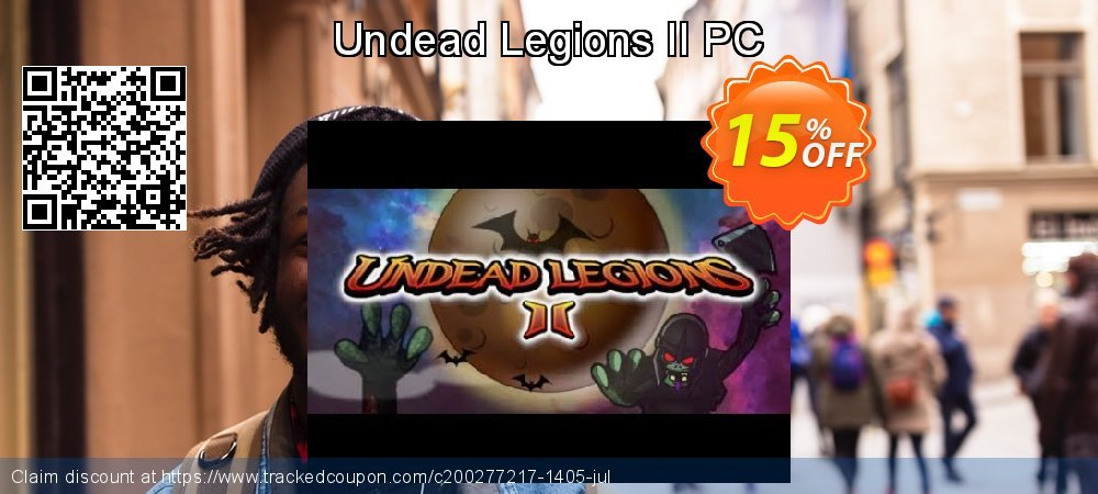 Undead Legions II PC coupon on Black Friday offer