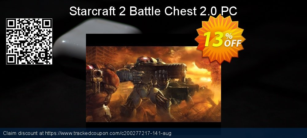 Starcraft 2 Battle Chest 2.0 PC coupon on Mothers Day deals