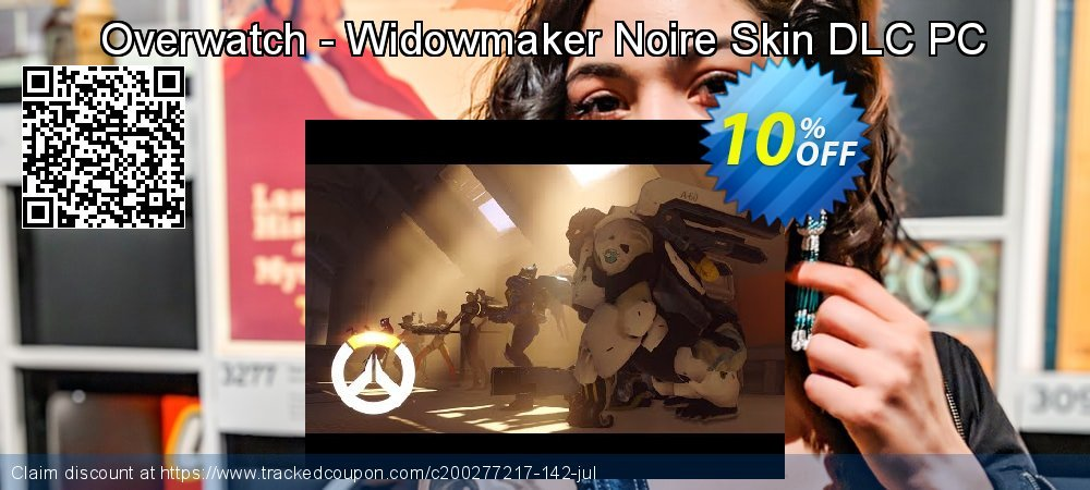 Overwatch - Widowmaker Noire Skin DLC PC coupon on Mom Day offer