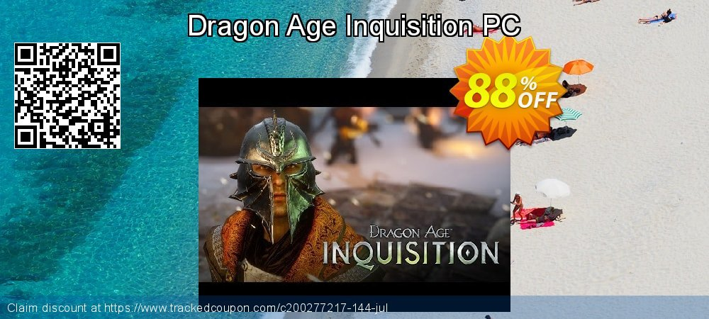 Dragon Age Inquisition PC coupon on Mom Day offering discount