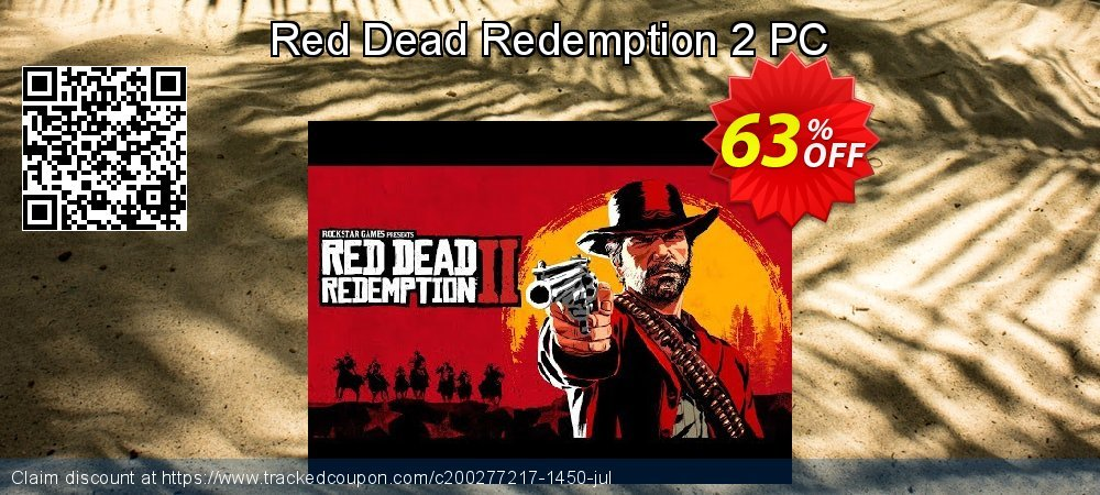 Red Dead Redemption 2 PC coupon on Halloween deals