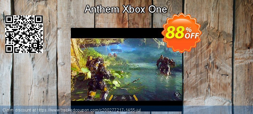 Anthem Xbox One coupon on US Independence Day discount