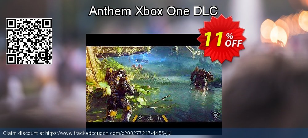 Anthem Xbox One DLC coupon on 4th of July offering discount