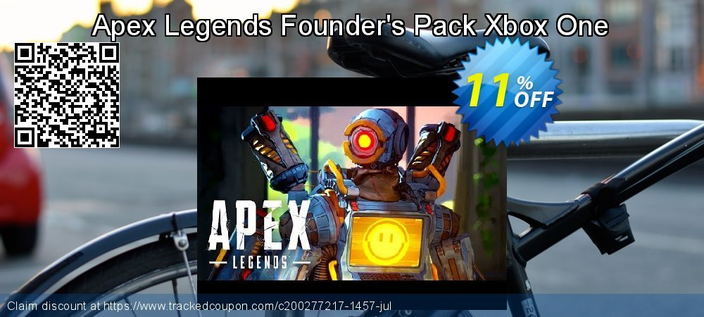 Apex Legends Founder's Pack Xbox One coupon on Christmas & New Year deals