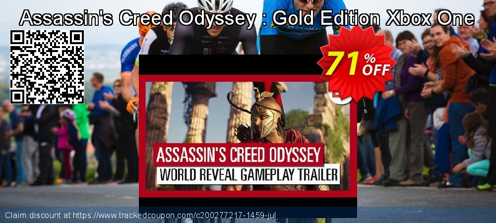 Assassin's Creed Odyssey : Gold Edition Xbox One coupon on US Independence Day discounts