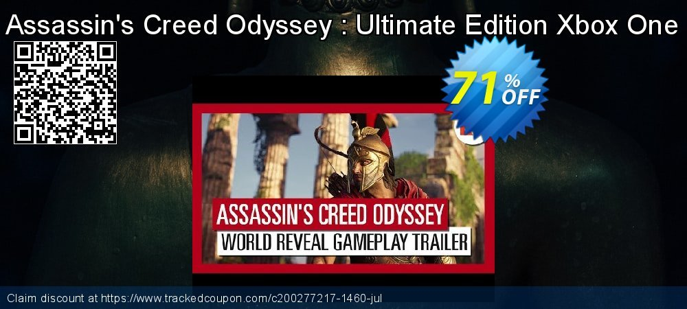 Assassin's Creed Odyssey : Ultimate Edition Xbox One coupon on Xmas Day offering discount