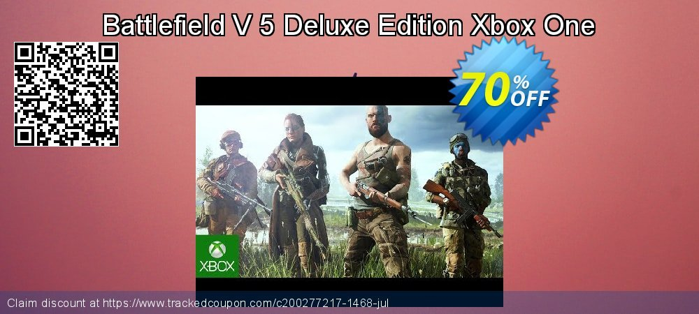 Battlefield V 5 Deluxe Edition Xbox One coupon on World Oceans Day super sale