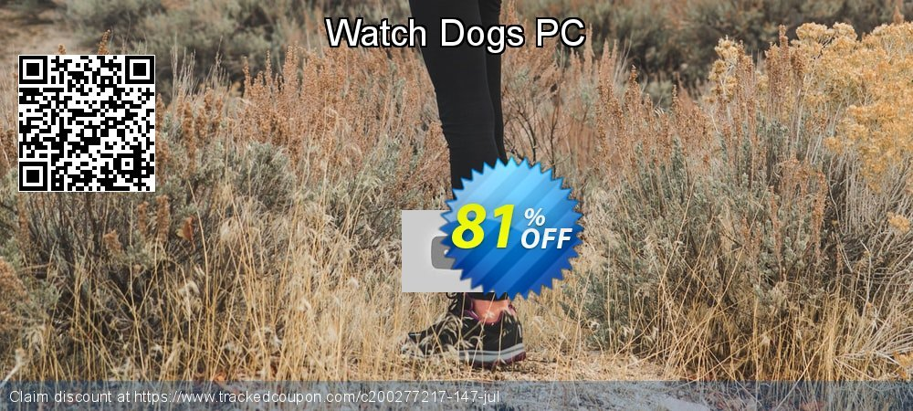 Get 83% OFF Watch Dogs PC offering sales