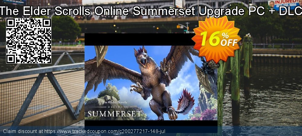 The Elder Scrolls Online Summerset Upgrade PC + DLC coupon on Mom Day promotions