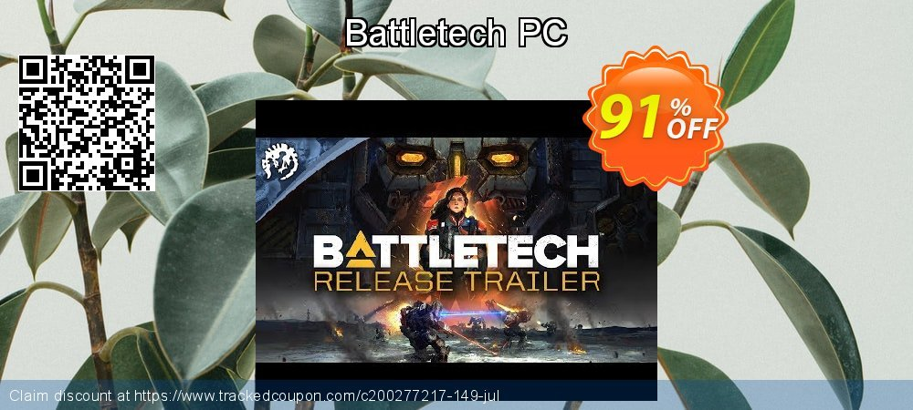 Battletech PC coupon on Mothers Day sales