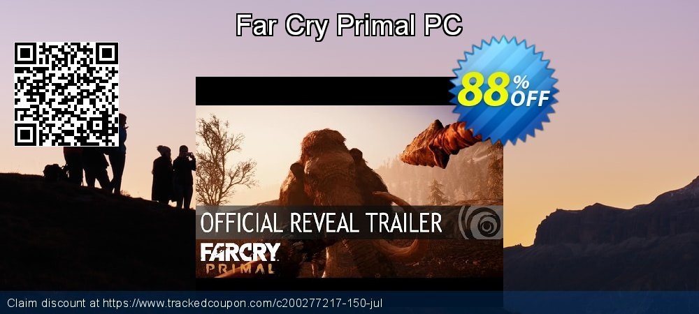 Far Cry Primal PC coupon on Mom Day deals