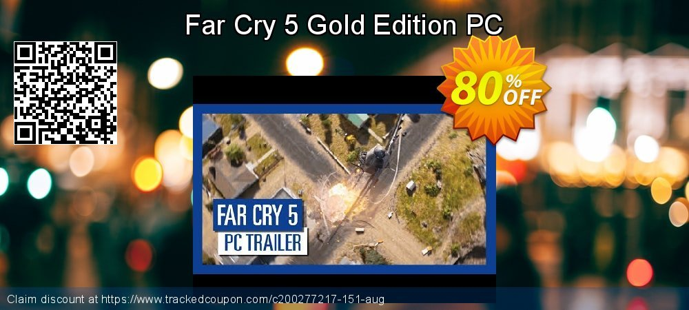 Far Cry 5 Gold Edition PC coupon on Mothers Day offer